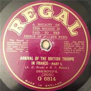 Unknown Artist - Arrival Of The British Troops In France FLAC