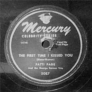 Patti Page, George Barnes Quartet - There's A Man In My Life ~ The First Time I Kissed You FLAC